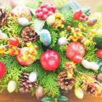 おうちクリスマスの飾り