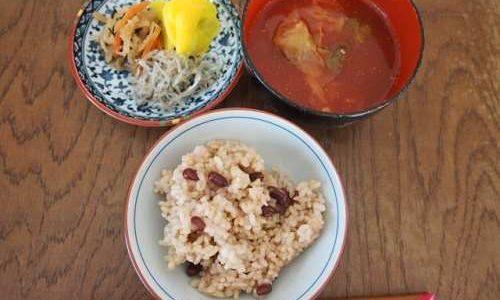 「玄米+一汁一菜」で、生活費とからだをスリムにする。