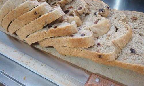 ツインバードホームベーカリー、とかち野酵母全粒粉食パンレシピ!