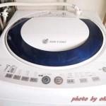 洗濯機の給水量が少な過ぎるときの対処。