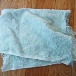 雑巾使い捨て