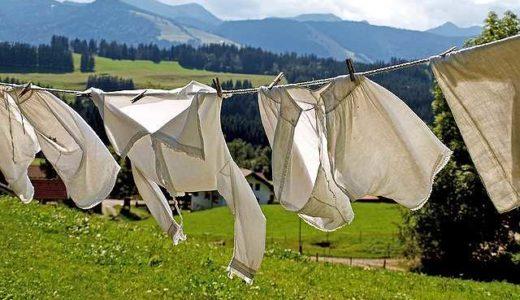 洗濯ものがにおわない、洗剤なしのマグちゃん洗濯に落ち着きそうな気配