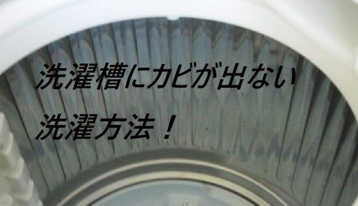 【洗濯】洗濯機のカビがなくなる洗濯方法