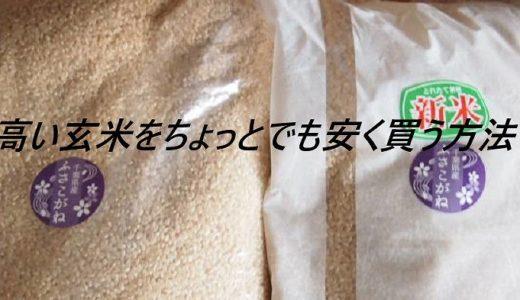 【食費節約】わたしが玄米を安く買う方法