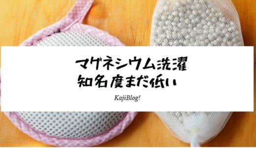 【羽鳥モーニングショー】マグネシウム洗濯の知名度まだ低い